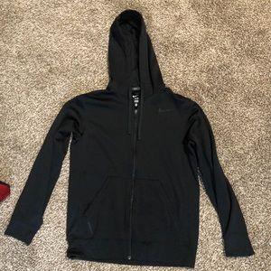 Nike full zip hoodie Dri-Fit